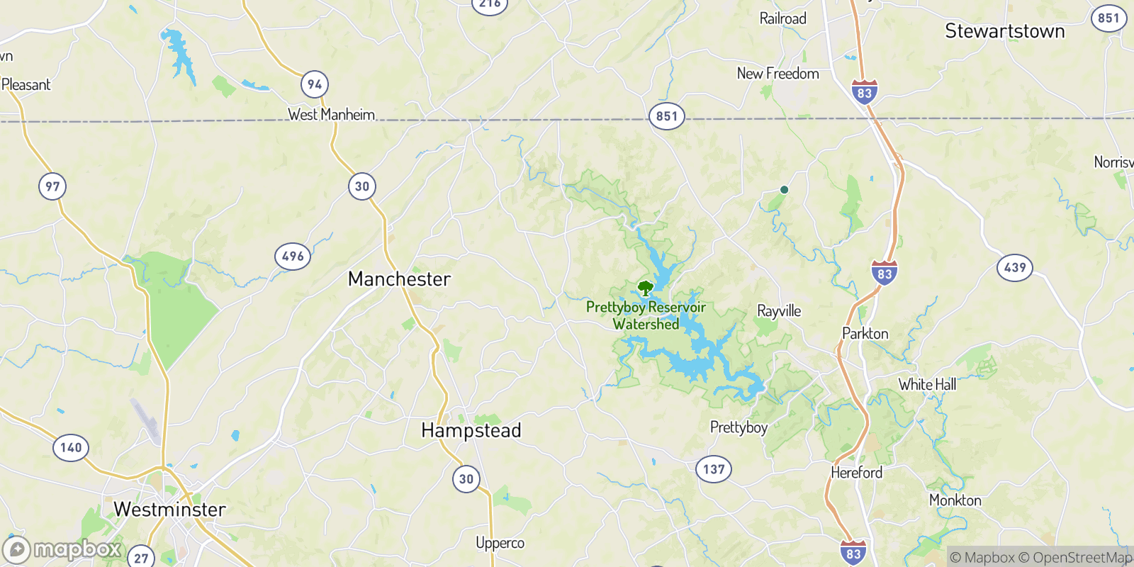 The best camping near Resh Mill Farms, Maryland