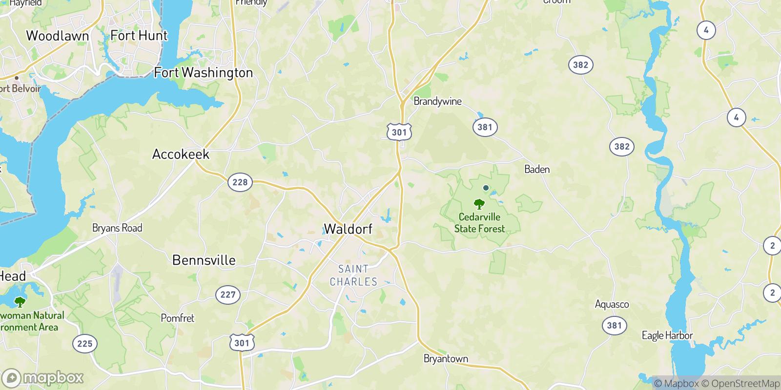 The best camping near White Oak Village, Maryland
