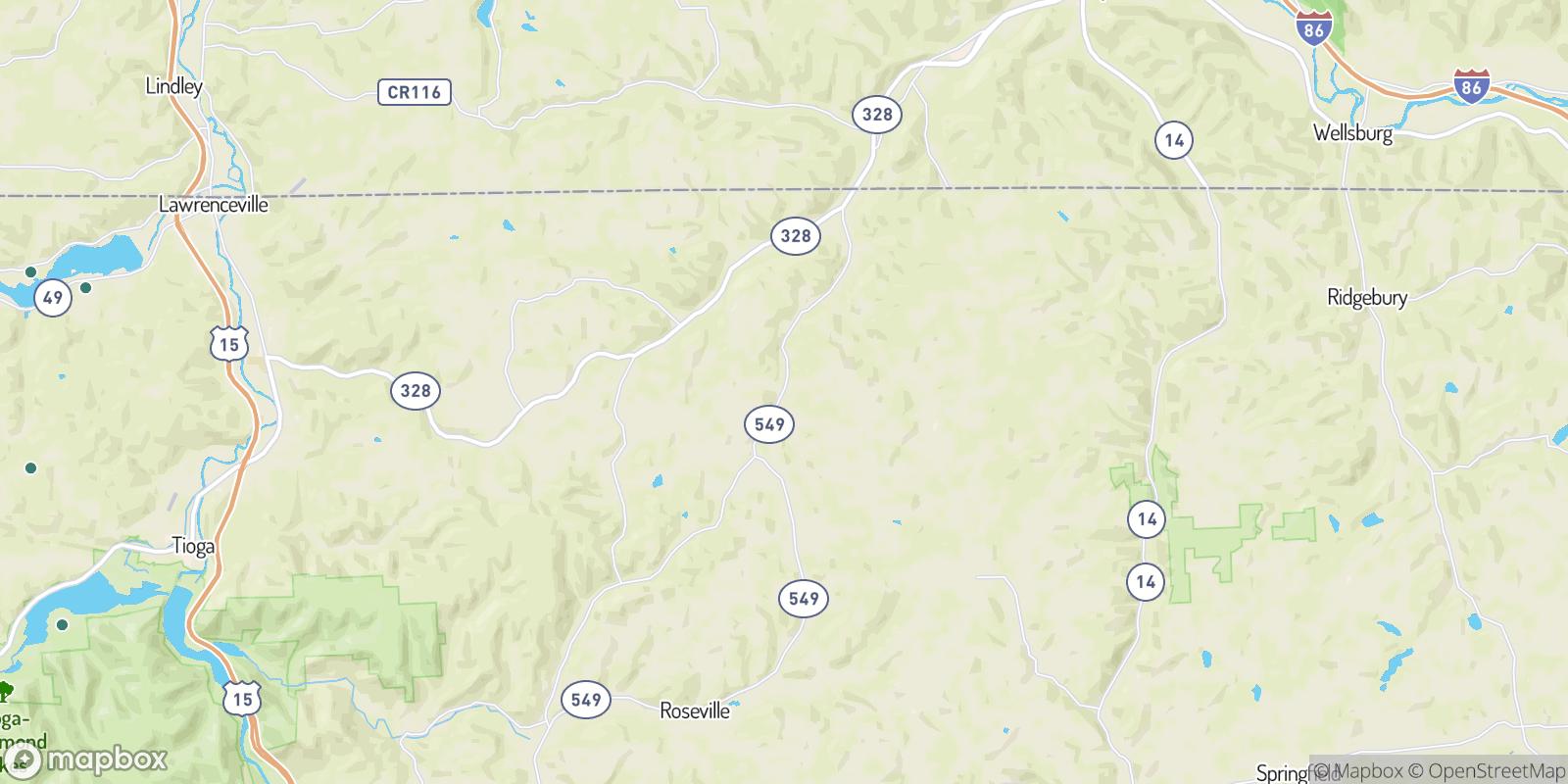 The best camping near Daggett, Pennsylvania