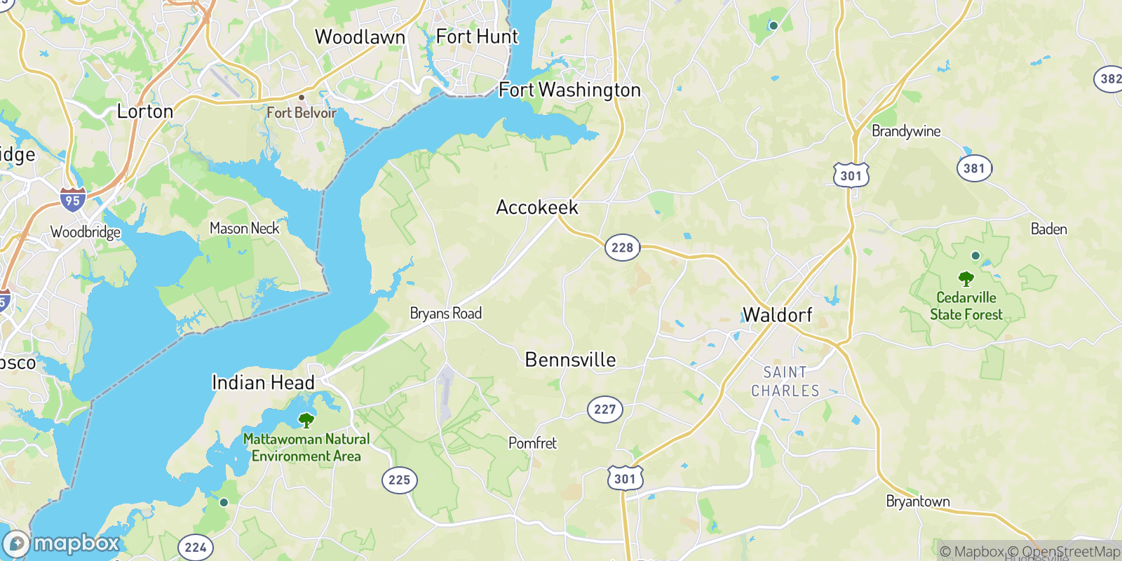 The best camping near Friendship Estates, Maryland