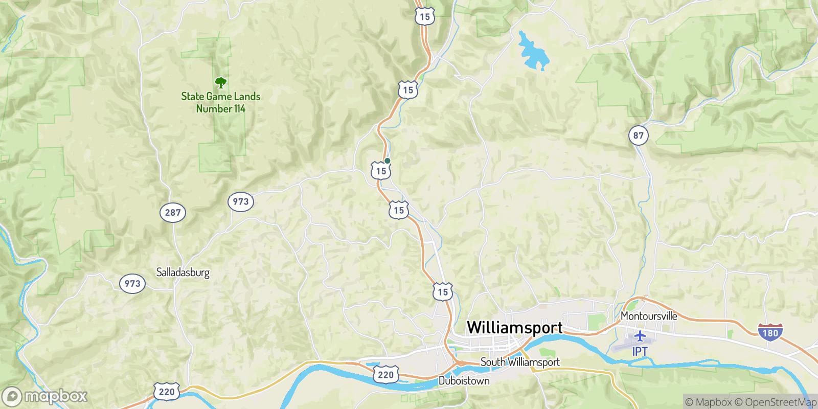 The best camping near Hepburn Heights, Pennsylvania