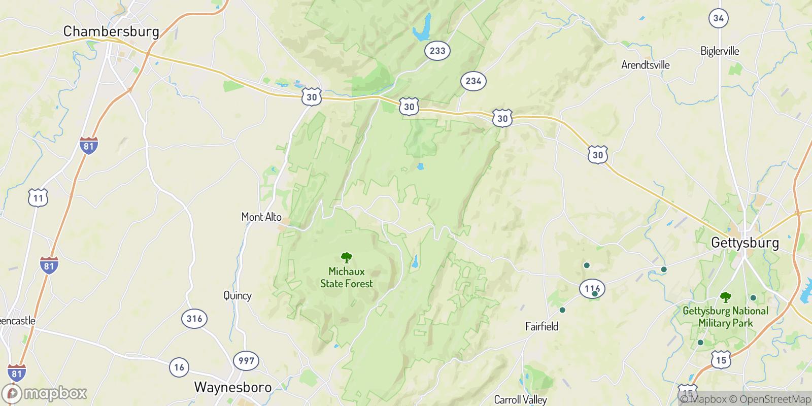 The best camping near Ram, Pennsylvania