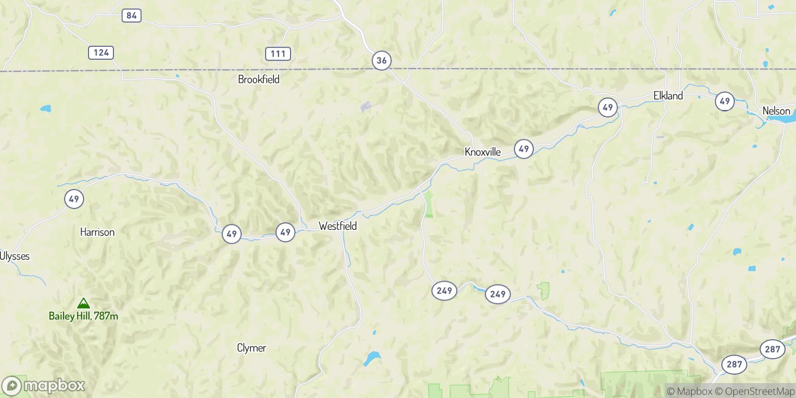 The best camping near Cowanesque, Pennsylvania