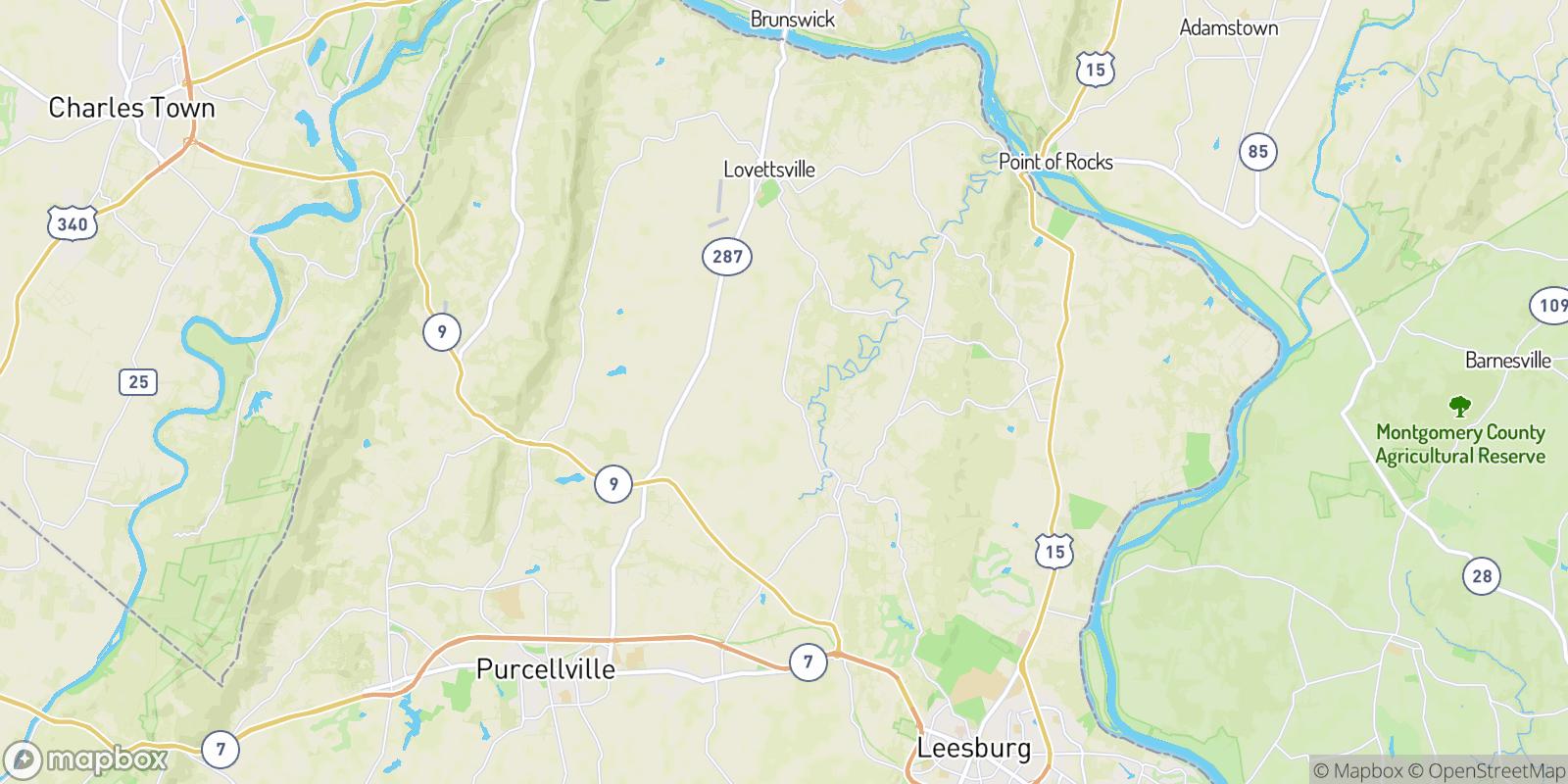 The best camping near Everharts Crossroads, Virginia