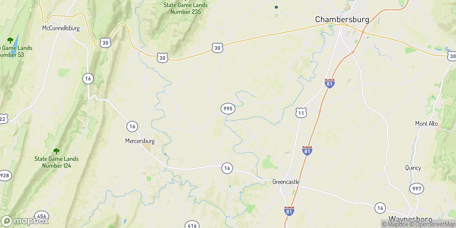 The best camping near Williamson, Pennsylvania