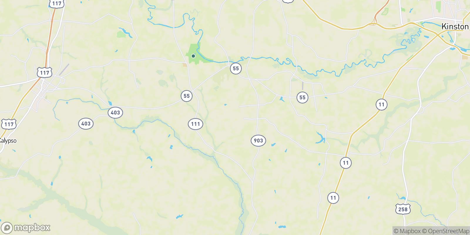 The best camping near Drummersville, North Carolina