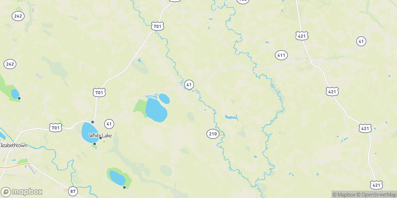 The best camping near Fowler Landing, North Carolina