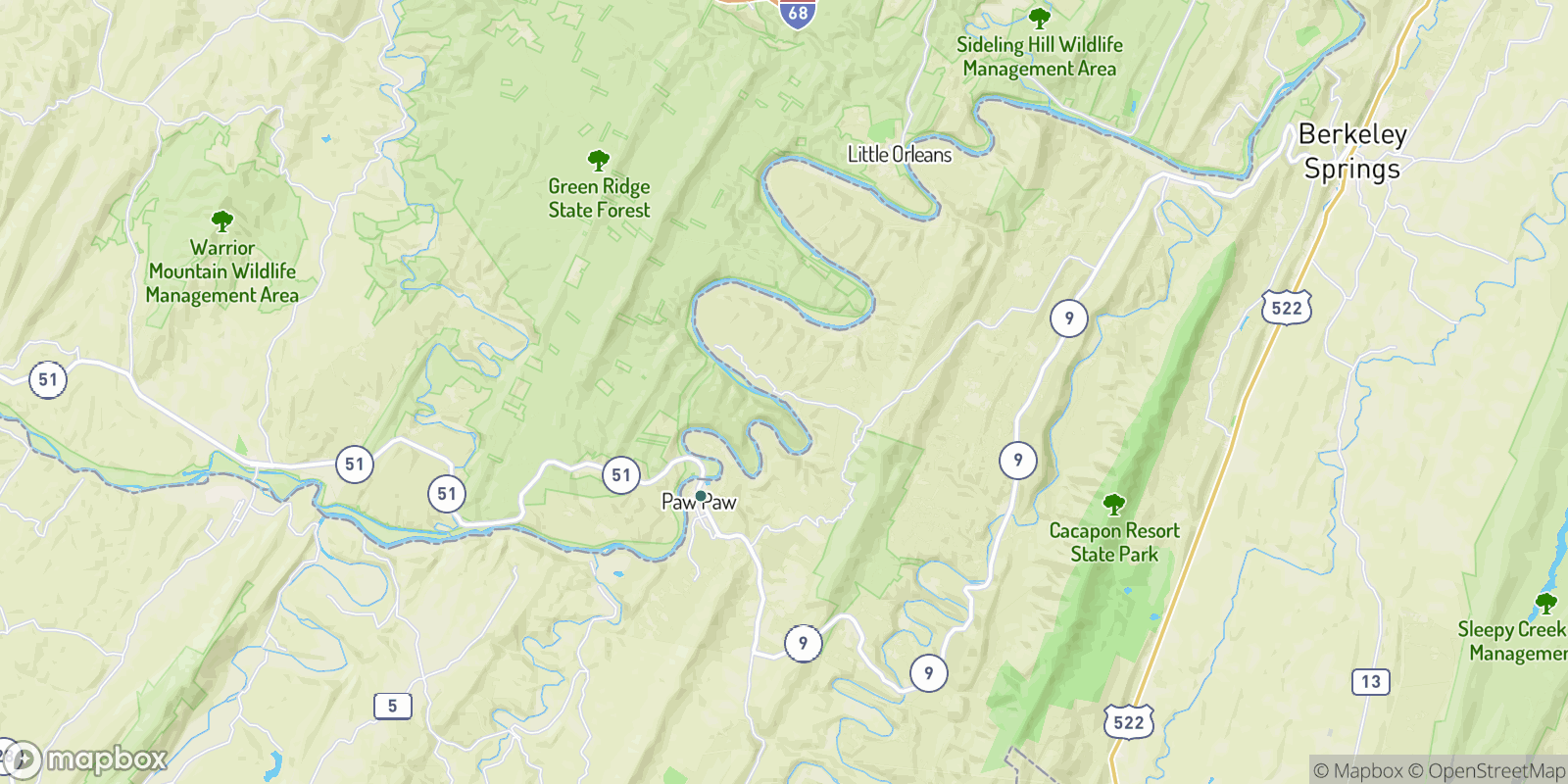 The best camping near Magnolia, West Virginia