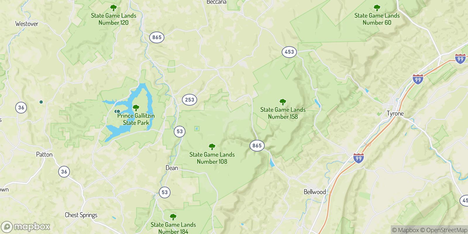The best camping near Bear Loop, Pennsylvania