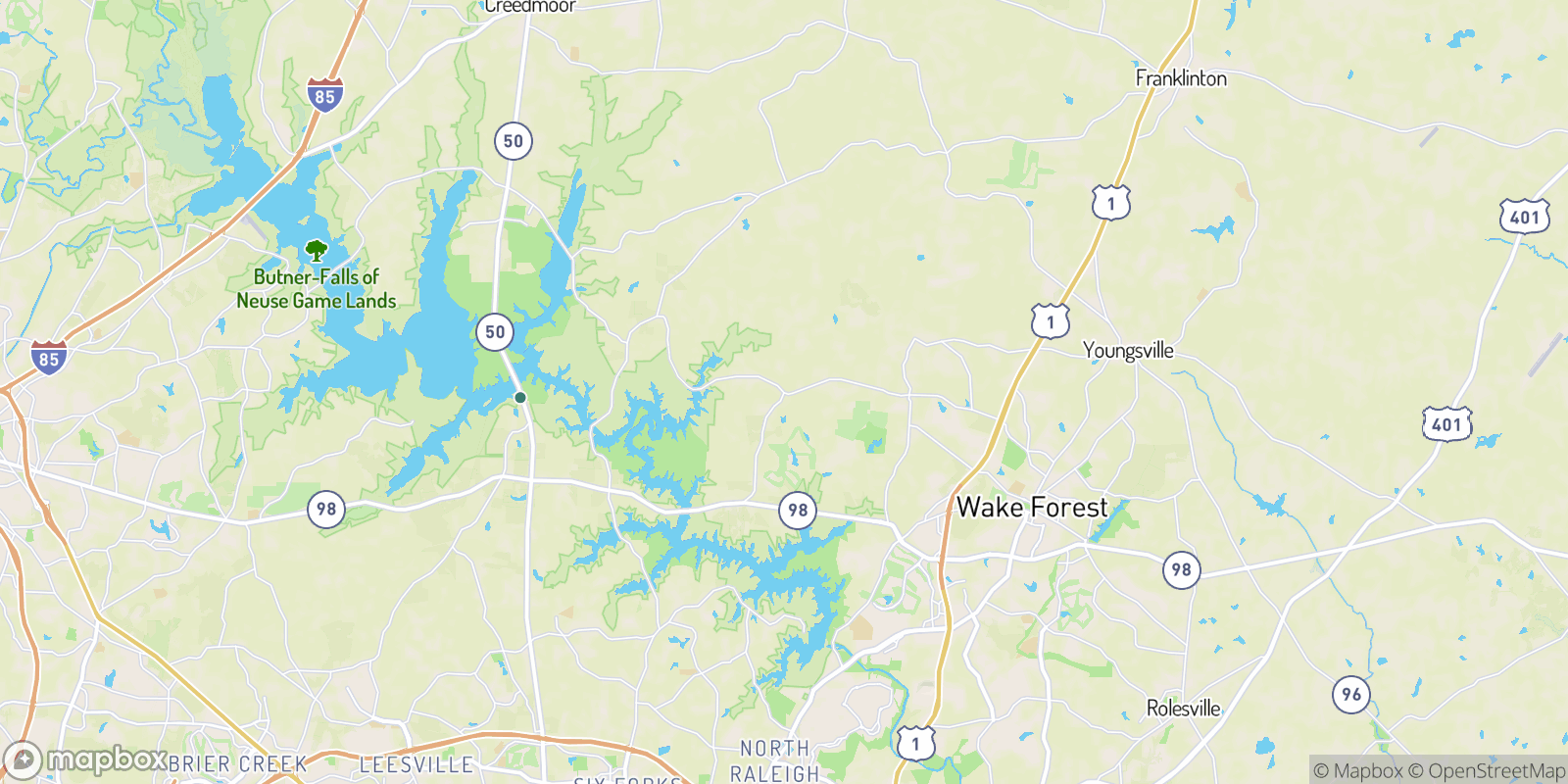 The best camping near New Light, North Carolina