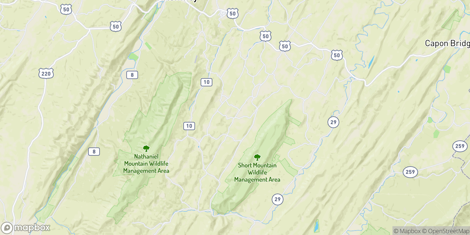 The best camping near Ruckman, West Virginia