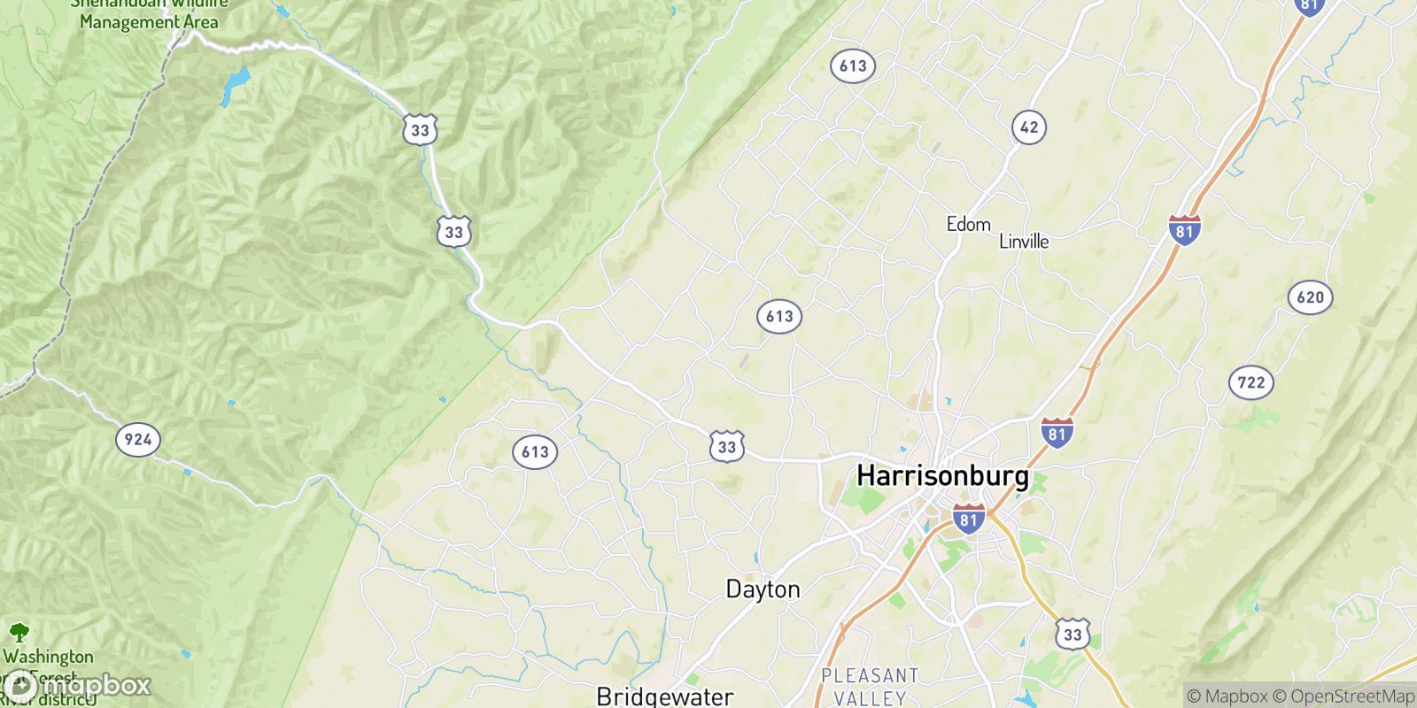 The best camping near Mount Clinton, Virginia