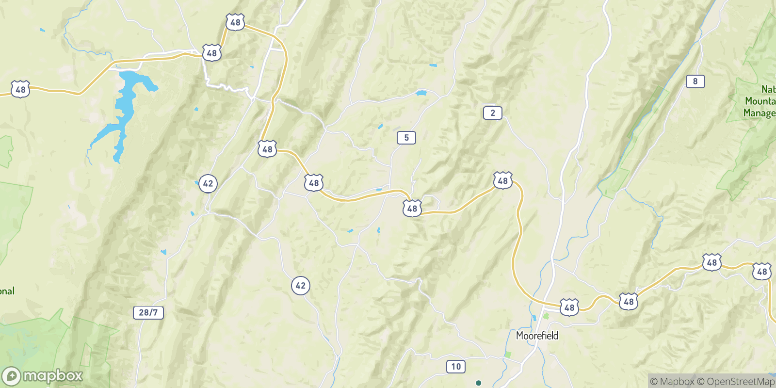 The best camping near Forman, West Virginia