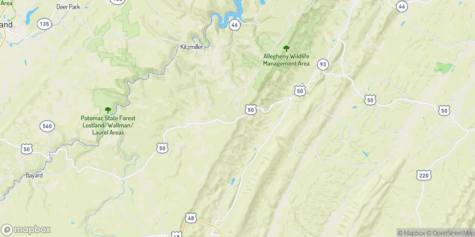 The best camping near Skyline, West Virginia