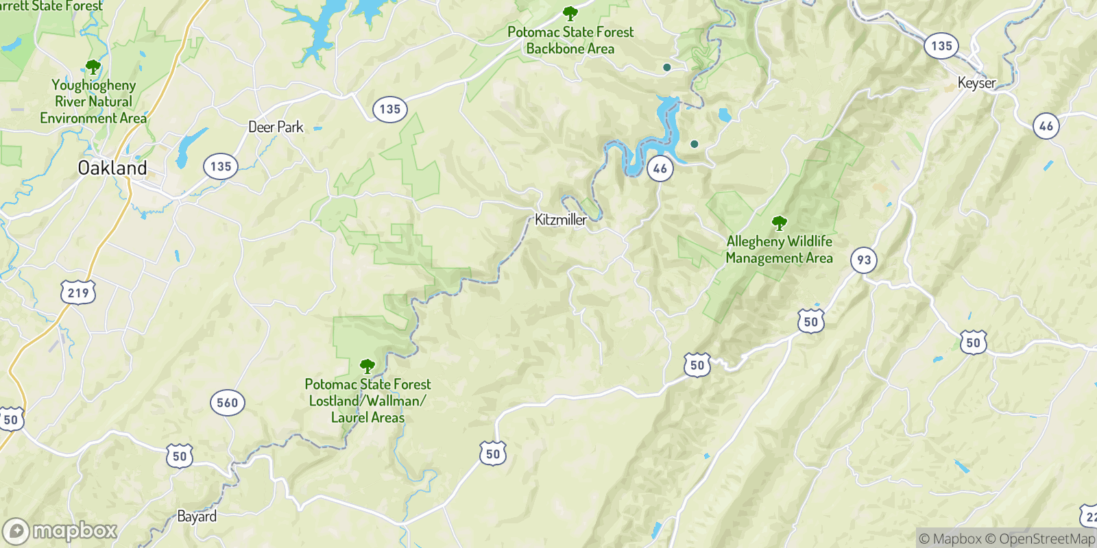 The best camping near Oakmont, West Virginia