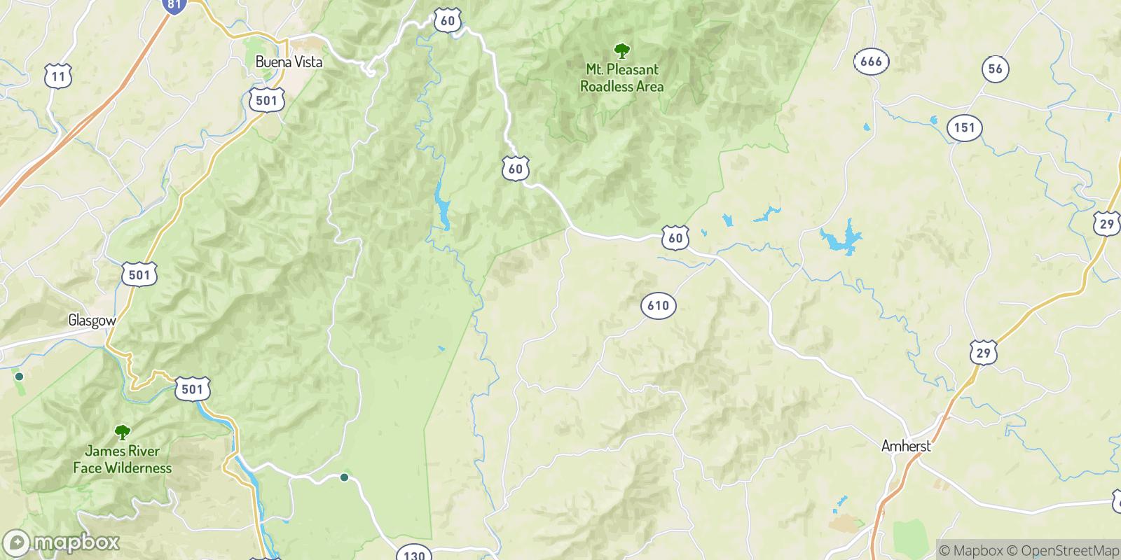 The best camping near Allwood, Virginia