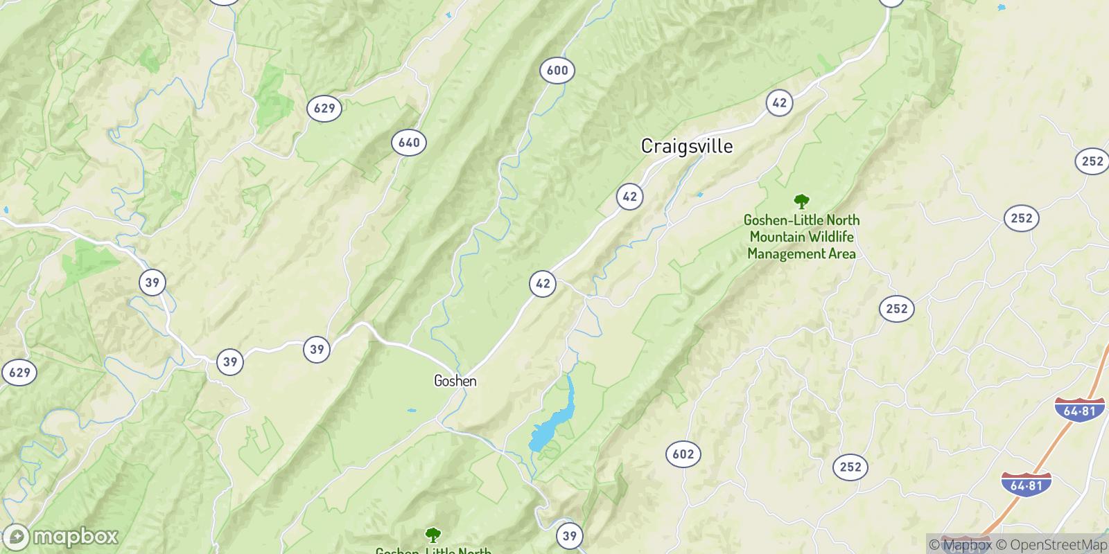The best camping near Bells Valley, Virginia