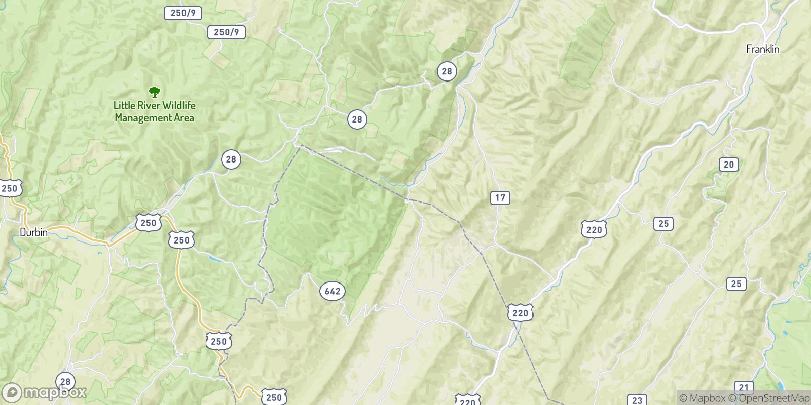 The best camping near Hardscrabble, Virginia