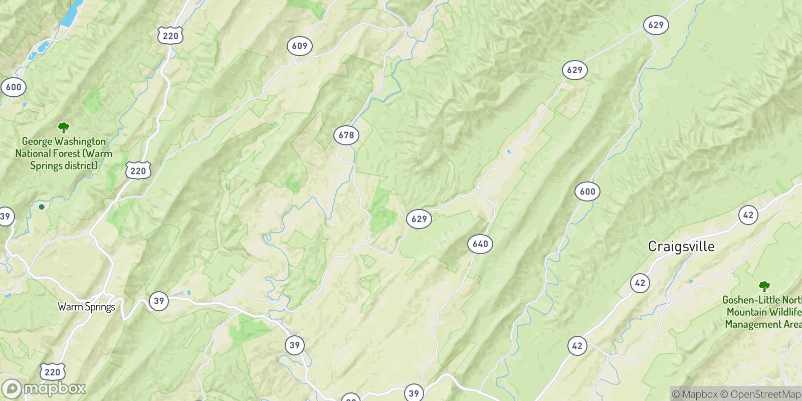 The best camping near McCowan Spring, Virginia