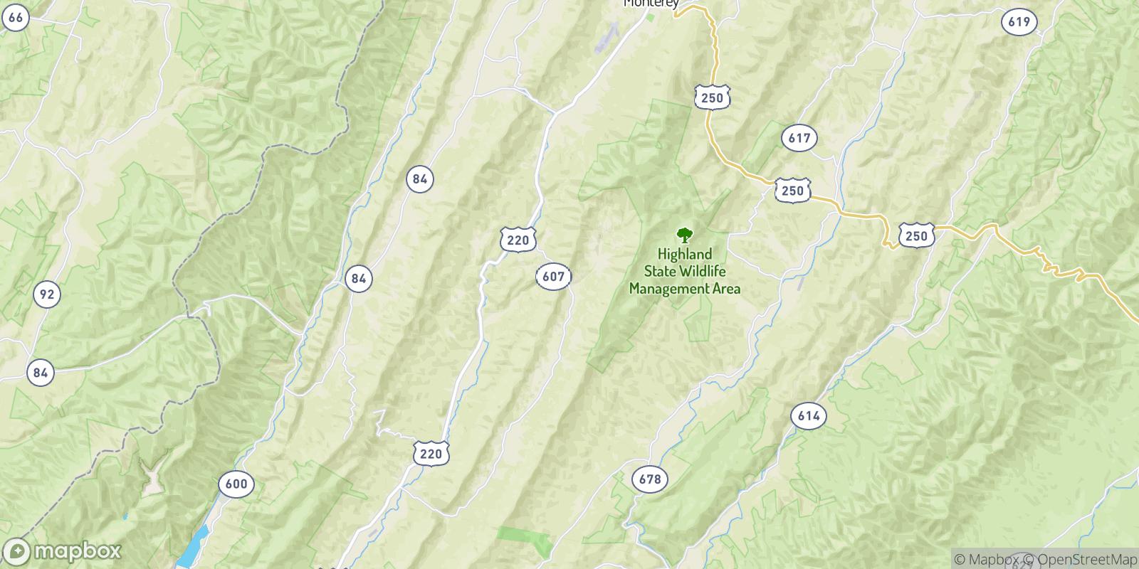 The best camping near Trimble, Virginia