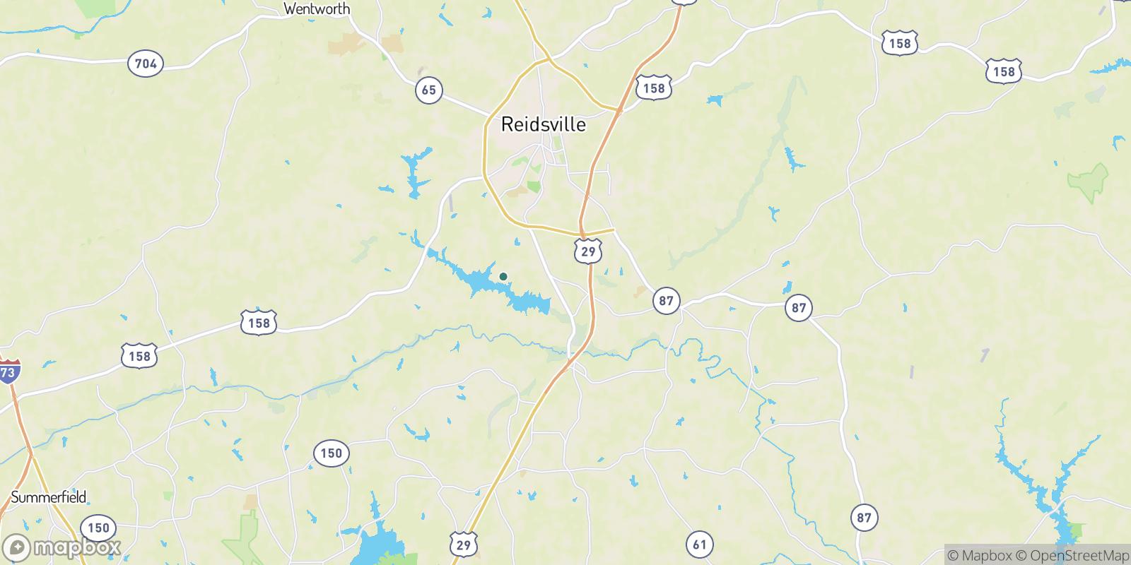 The best camping near Foushee, North Carolina