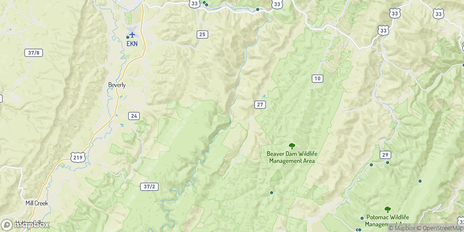 The best camping near Bemis, West Virginia