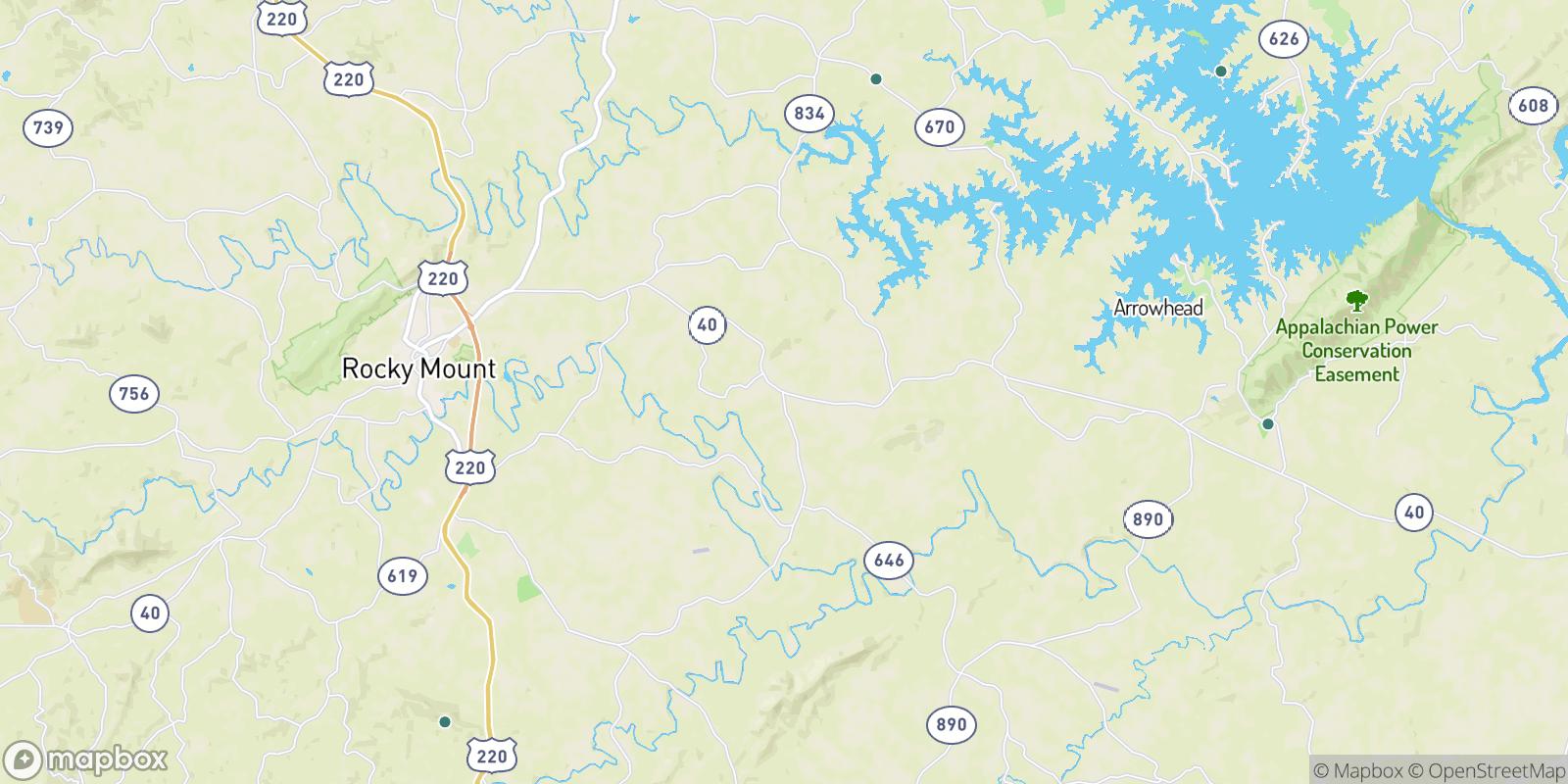 The best camping near Gladehill, Virginia