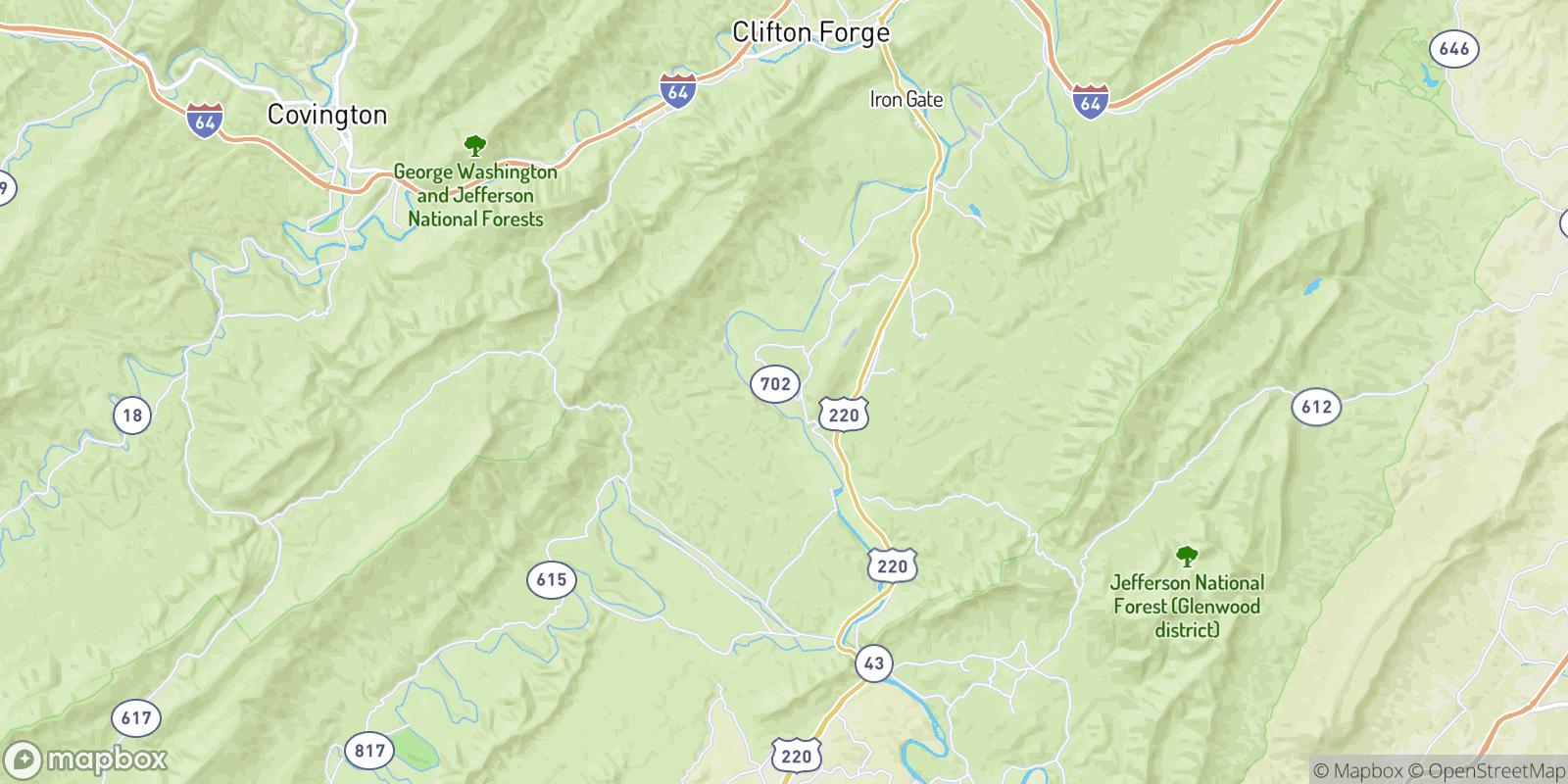 The best camping near Haden, Virginia
