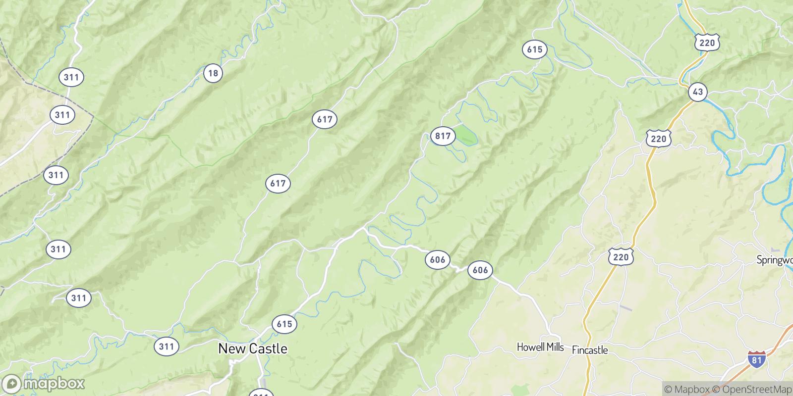 The best camping near Charlton, Virginia