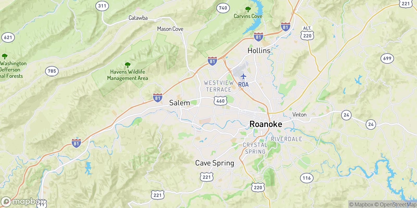 The best camping near Edgewood, Virginia