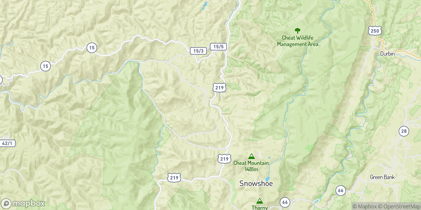 The best camping near Upper Mingo, West Virginia