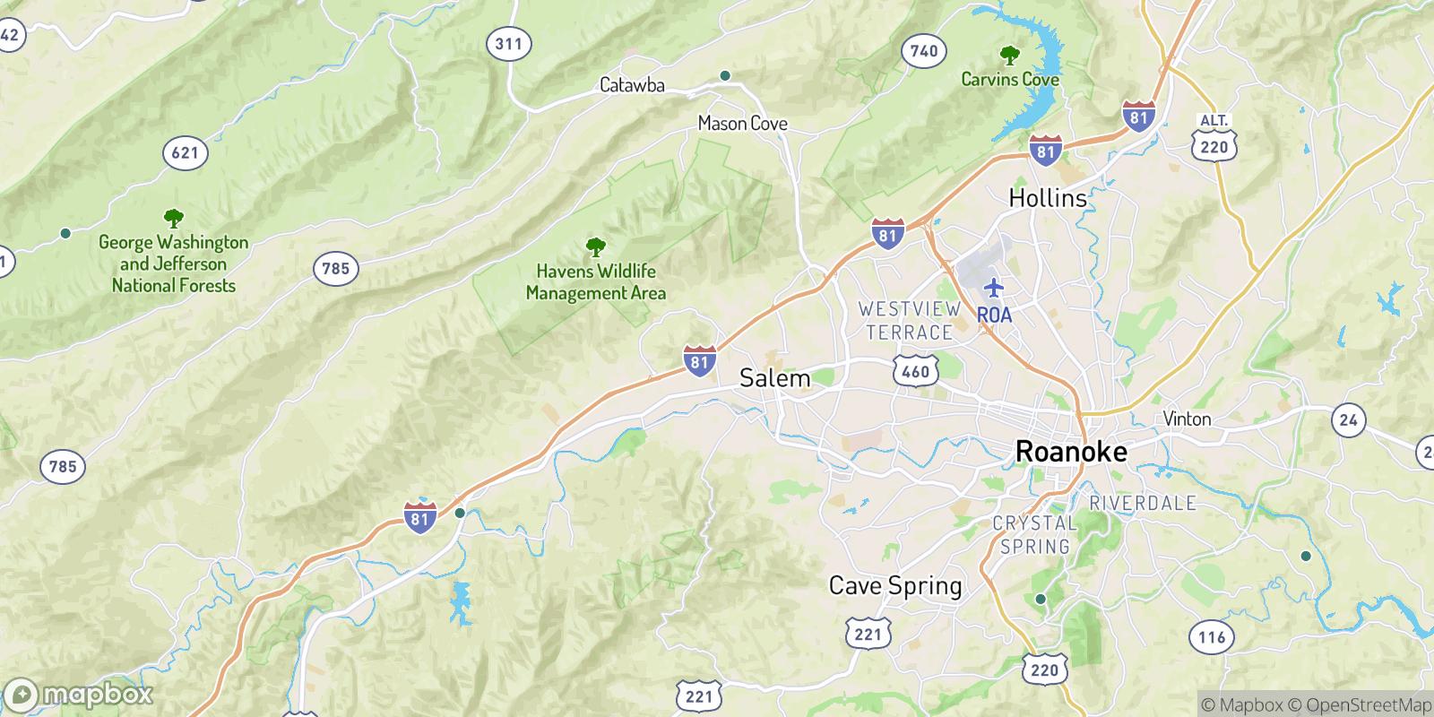 The best camping near Spangler, Virginia