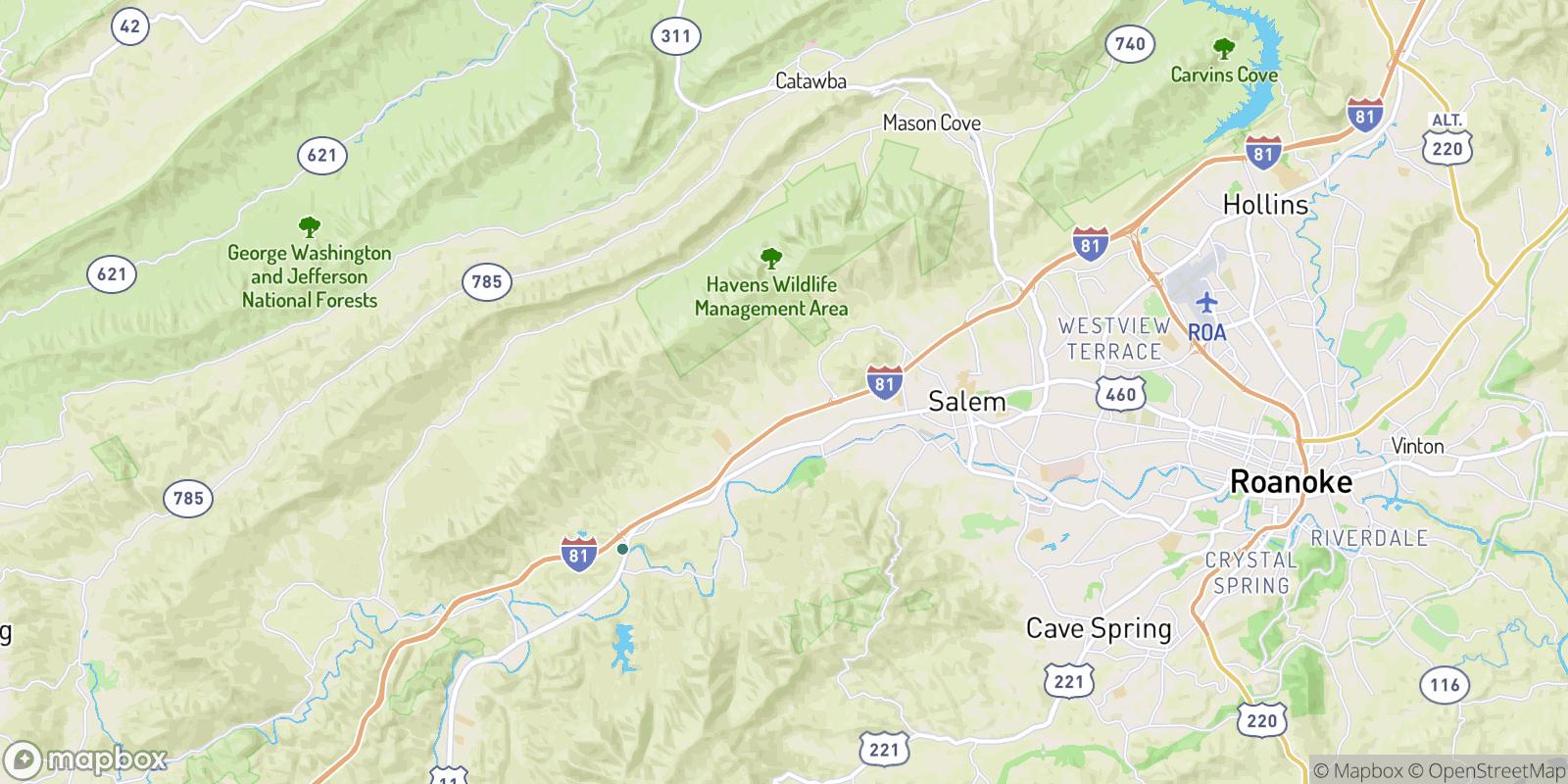 The best camping near Quail Crossing, Virginia