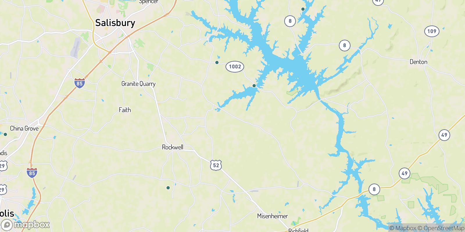 The best camping near Liberty, North Carolina