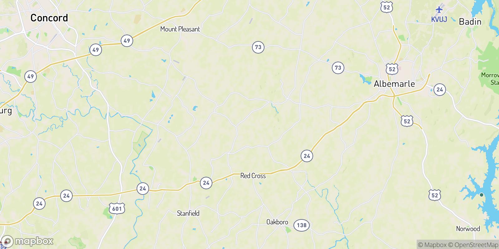 The best camping near Lambert, North Carolina
