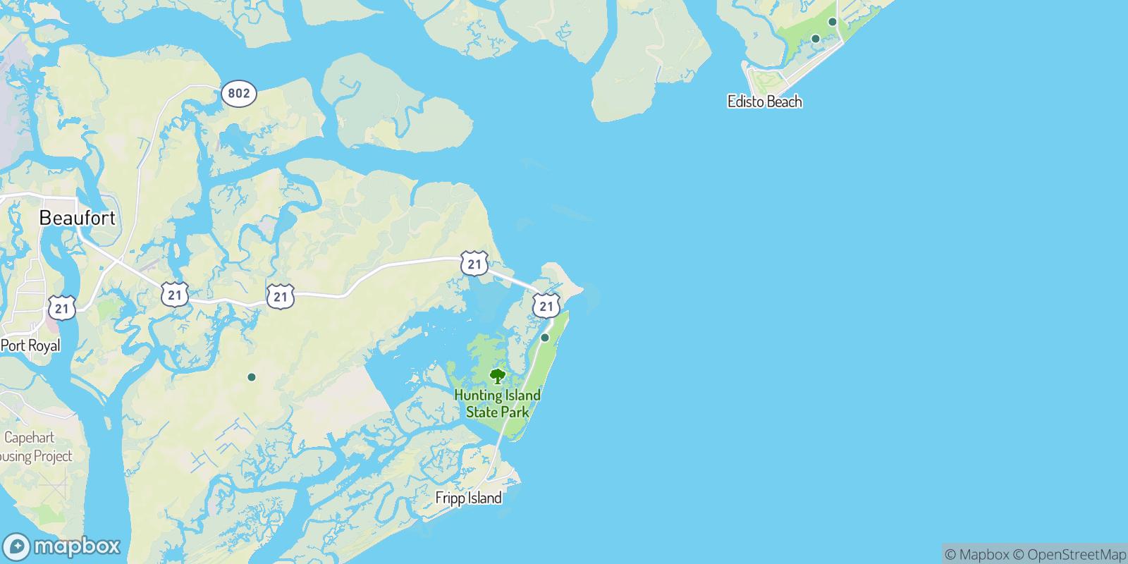 The best camping near Cedar Reef Villas, South Carolina