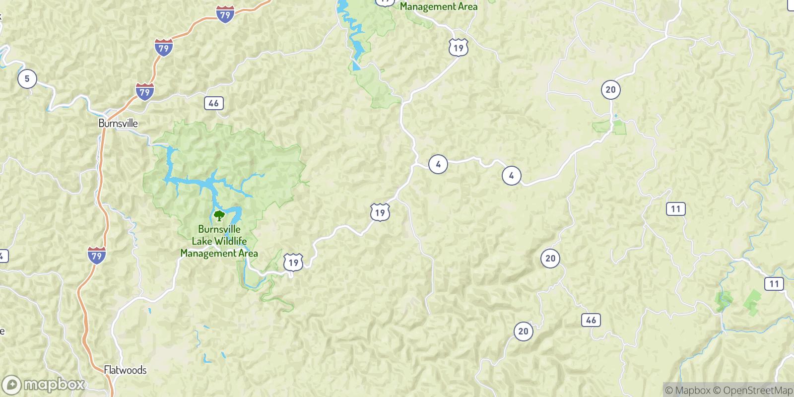 The best camping near Ireland, West Virginia