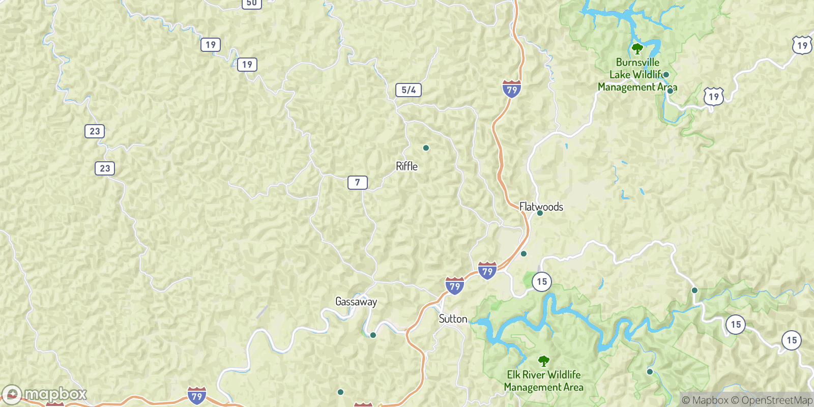 The best camping near Pembroke, West Virginia