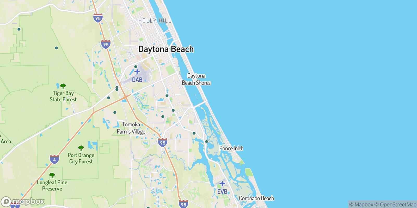 The best camping near Halifax Estates, Florida