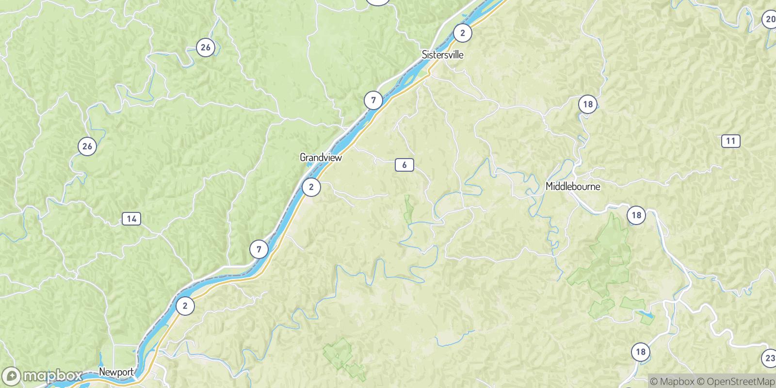 The best camping near Everett, West Virginia