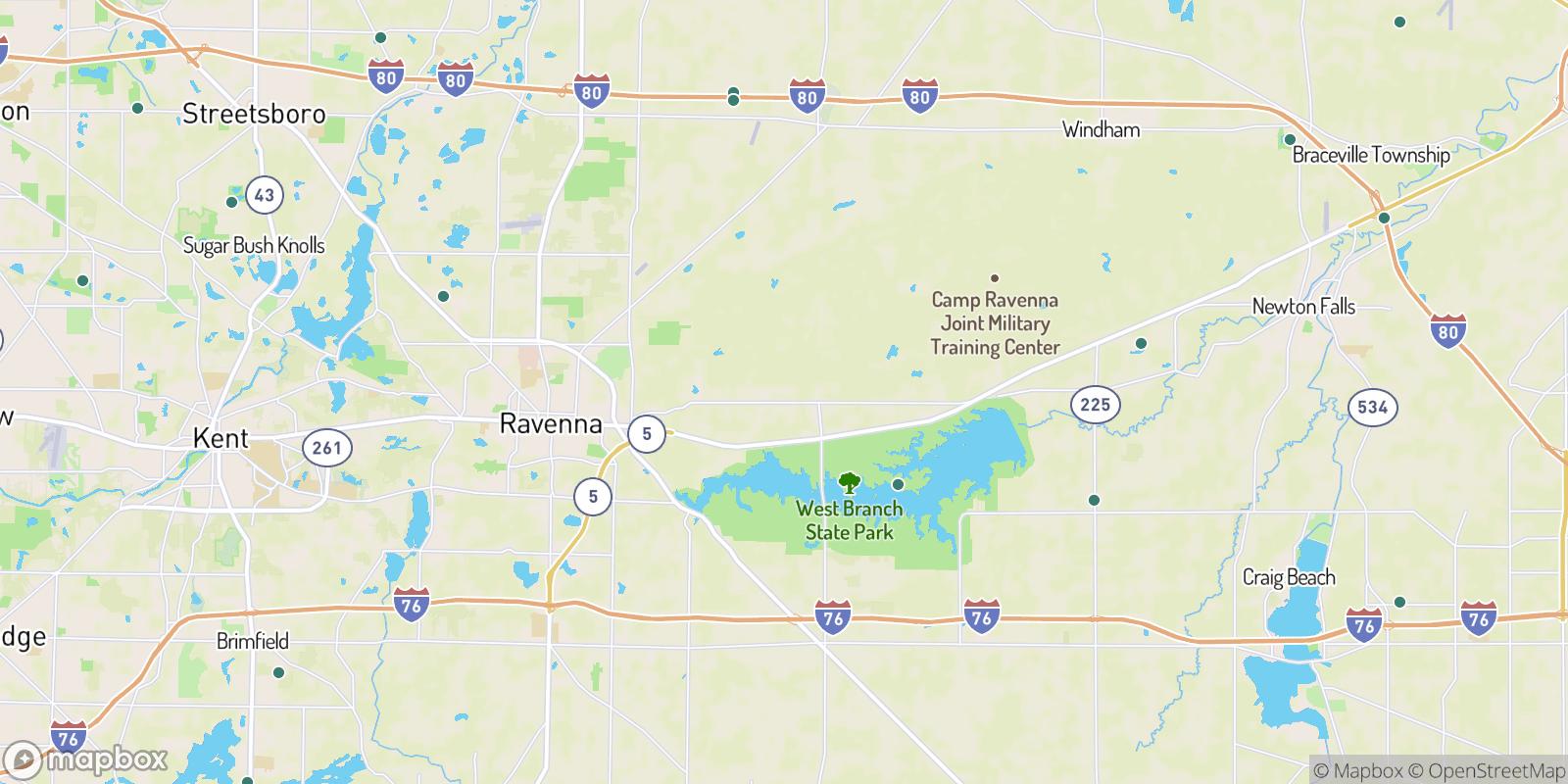 The best camping near Maple Del Manor, Ohio
