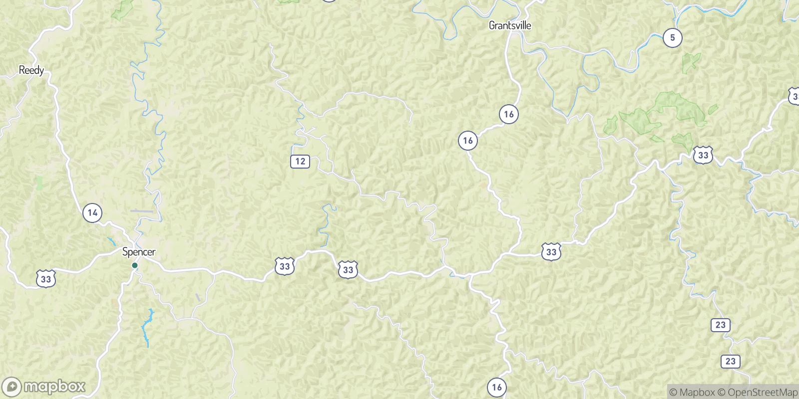 The best camping near Adam, West Virginia