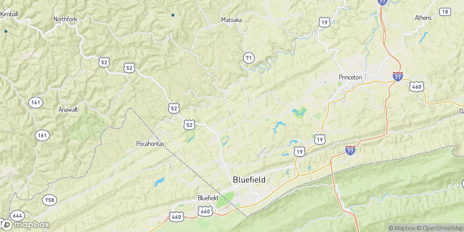 The best camping near Lorton Lick, West Virginia