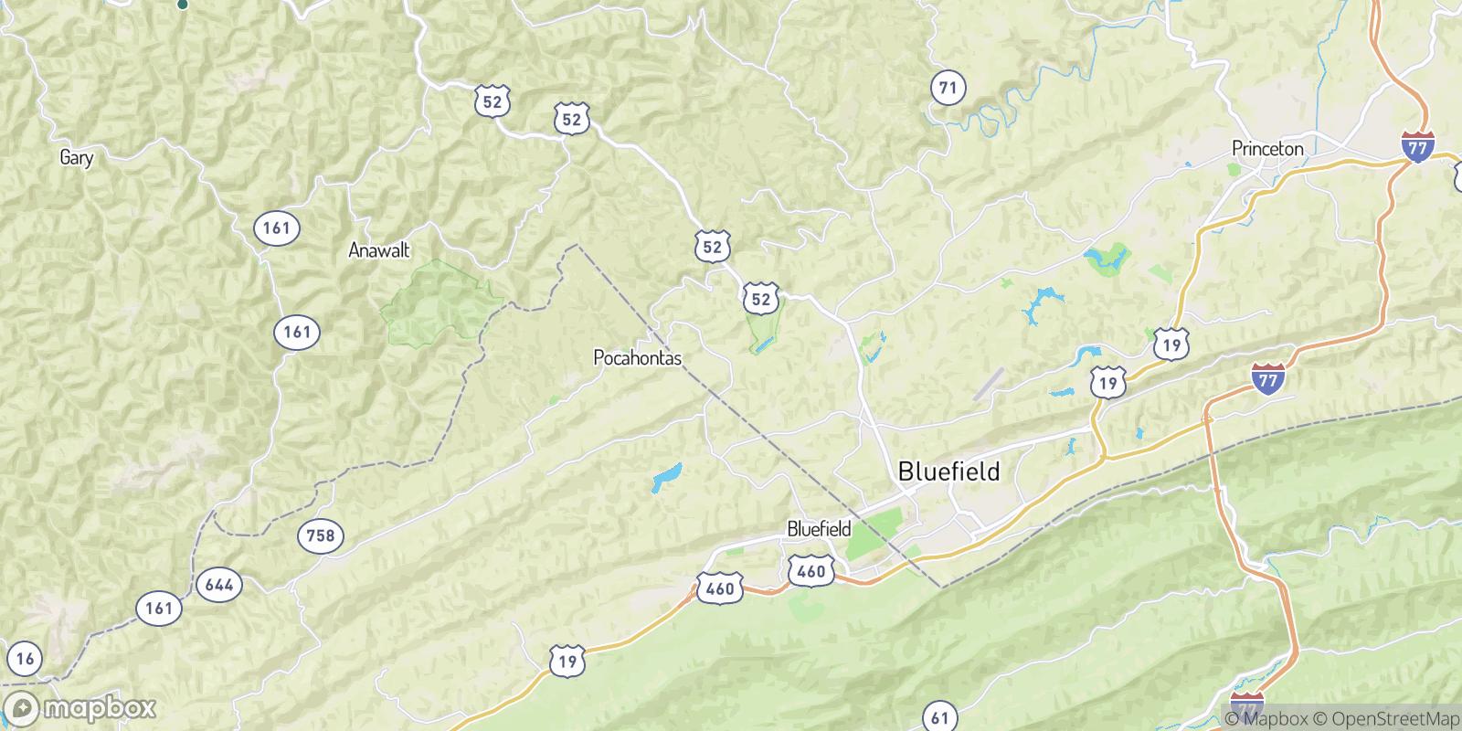 The best camping near Nemours, West Virginia