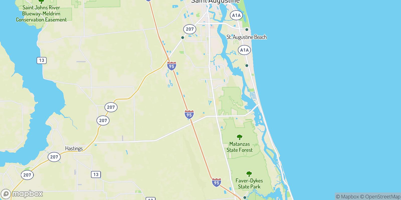 The best camping near Saybrook, Florida