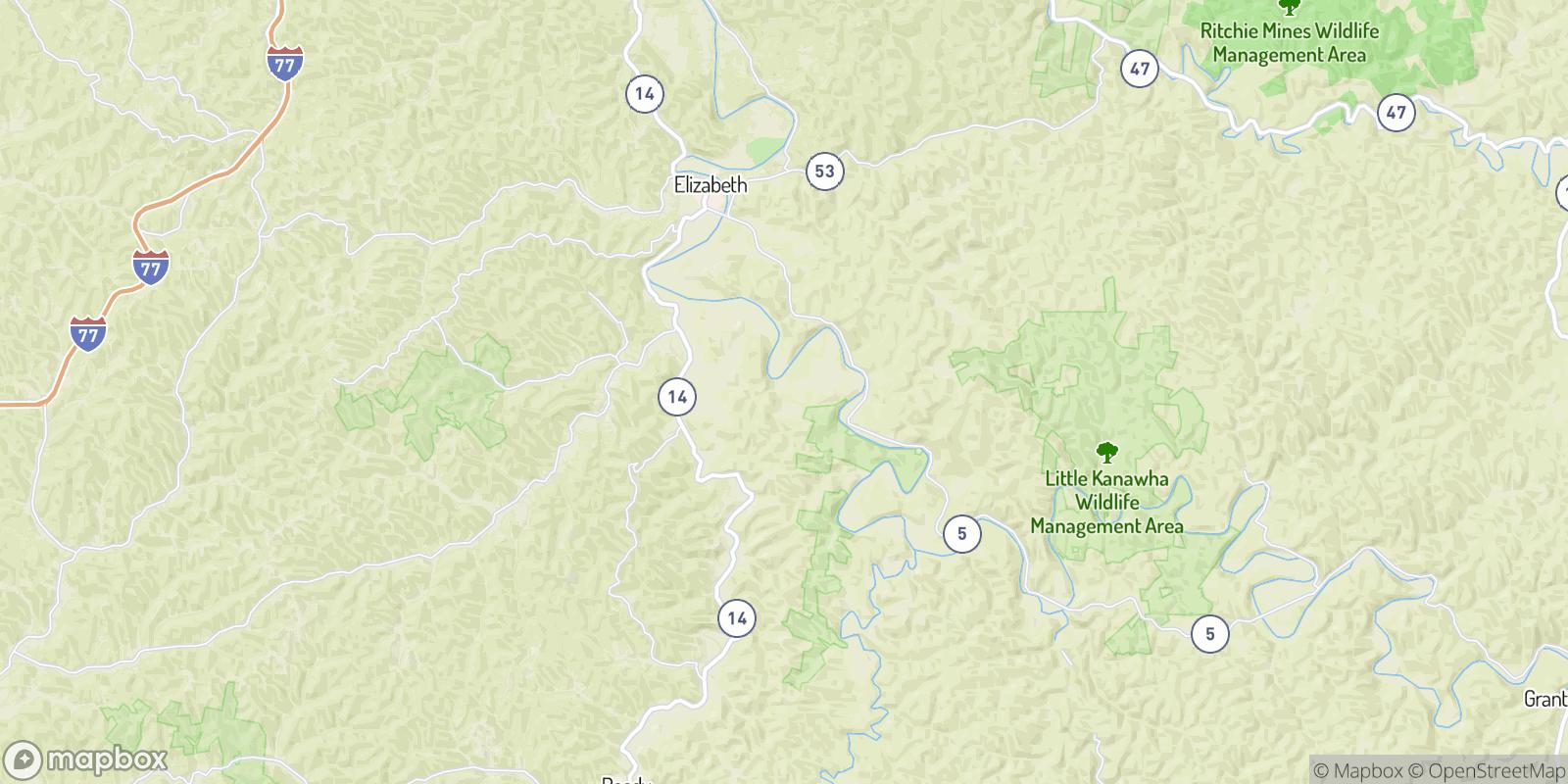 The best camping near Enterprise, West Virginia