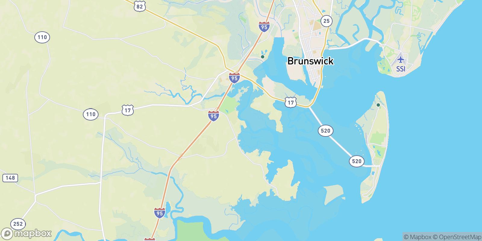 The best camping near Hickory Bluff, Georgia