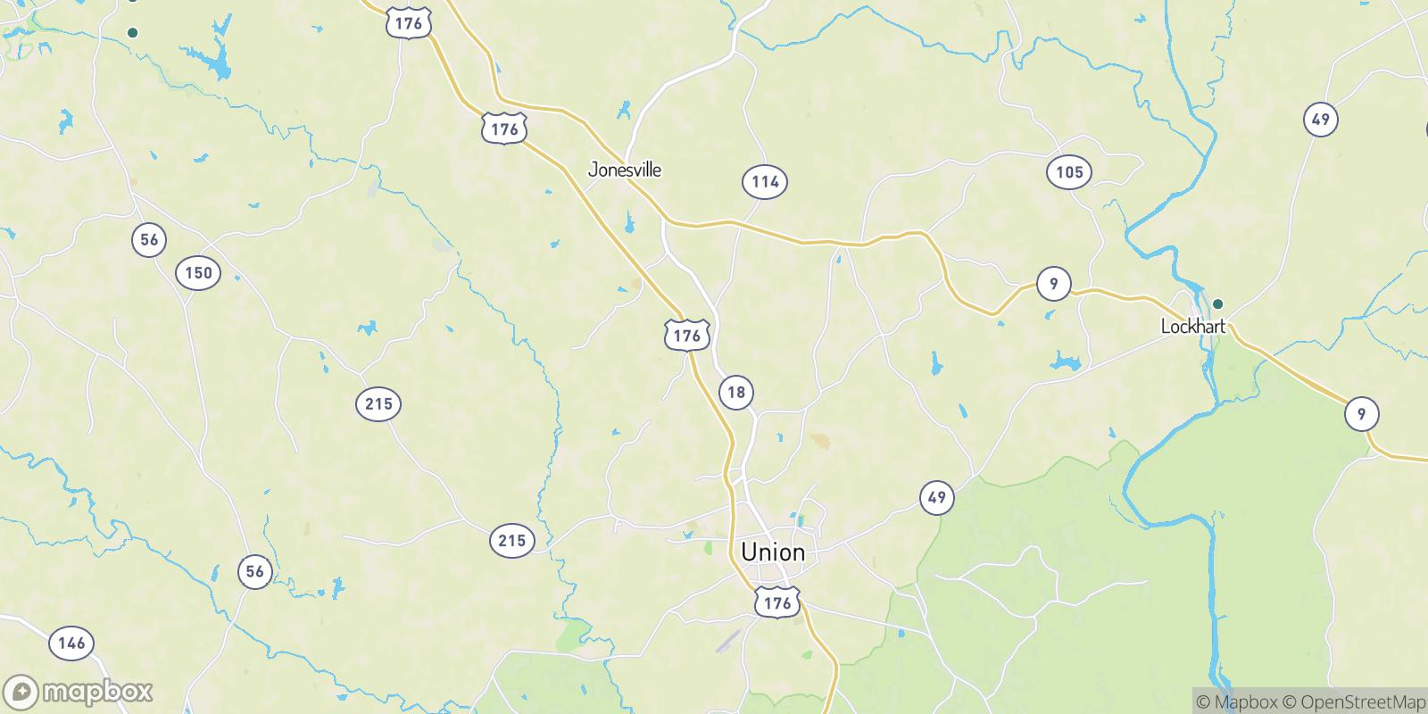 The best camping near Bonham, South Carolina