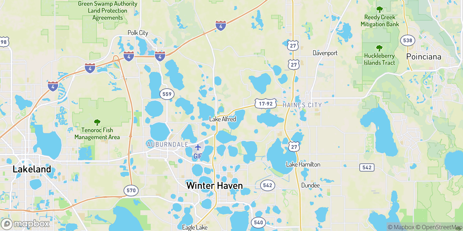 The best camping near Palm Shores Mobile Village, Florida