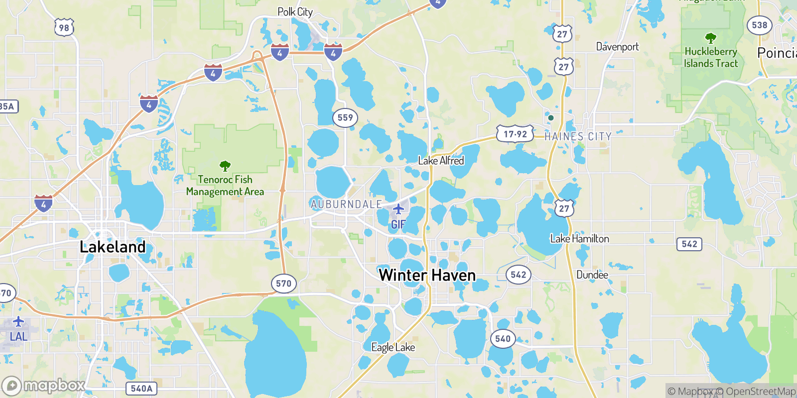 The best camping near Leisure Homes Mobile Park, Florida